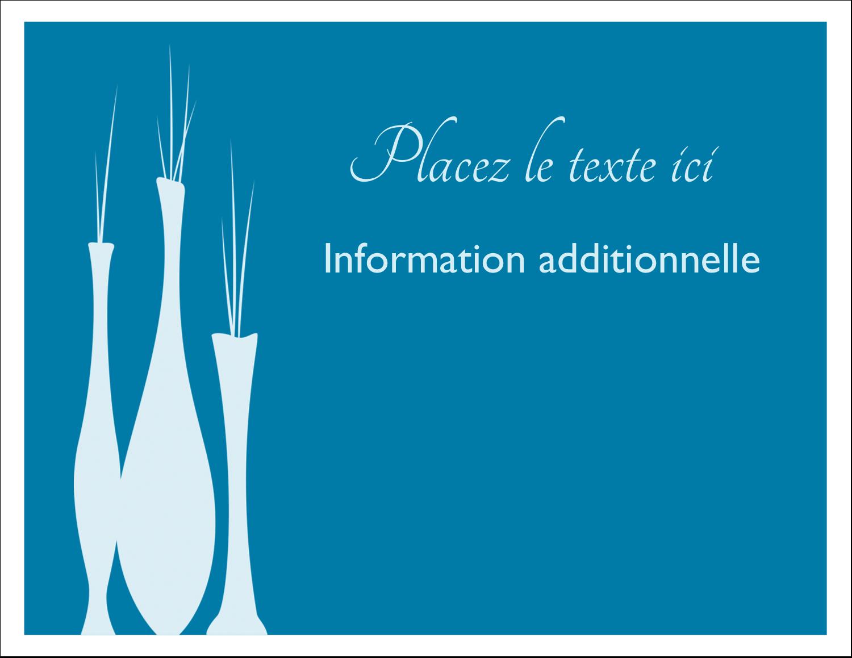 """8½"""" x 11"""" Cartes Et Articles D'Artisanat Imprimables - Vase design d'intérieur"""