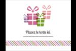 Quatre cadeaux Cartes de notes - gabarit prédéfini. <br/>Utilisez notre logiciel Avery Design & Print Online pour personnaliser facilement la conception.