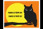 Chouette d'Halloween Cartes Et Articles D'Artisanat Imprimables - gabarit prédéfini. <br/>Utilisez notre logiciel Avery Design & Print Online pour personnaliser facilement la conception.
