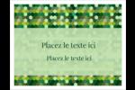 Hexagones verts Cartes de notes - gabarit prédéfini. <br/>Utilisez notre logiciel Avery Design & Print Online pour personnaliser facilement la conception.