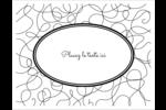 Gribouillis Cartes de notes - gabarit prédéfini. <br/>Utilisez notre logiciel Avery Design & Print Online pour personnaliser facilement la conception.