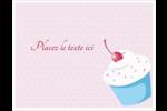 Petit gâteau aux cerises Cartes Et Articles D'Artisanat Imprimables - gabarit prédéfini. <br/>Utilisez notre logiciel Avery Design & Print Online pour personnaliser facilement la conception.