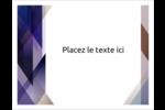 Prisme de verre Cartes Et Articles D'Artisanat Imprimables - gabarit prédéfini. <br/>Utilisez notre logiciel Avery Design & Print Online pour personnaliser facilement la conception.