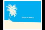 Palm Beach Cartes de notes - gabarit prédéfini. <br/>Utilisez notre logiciel Avery Design & Print Online pour personnaliser facilement la conception.