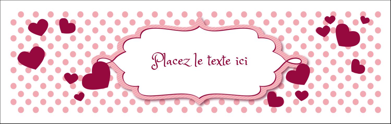 """4¼"""" x 5½"""" Carte de note - Bulles de Saint-Valentin"""