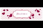 Bulles de Saint-Valentin Carte de note - gabarit prédéfini. <br/>Utilisez notre logiciel Avery Design & Print Online pour personnaliser facilement la conception.