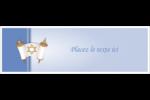 Rouleau de la Torah Affichette - gabarit prédéfini. <br/>Utilisez notre logiciel Avery Design & Print Online pour personnaliser facilement la conception.