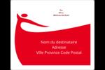 Danseuse rouge Étiquettes d'expédition - gabarit prédéfini. <br/>Utilisez notre logiciel Avery Design & Print Online pour personnaliser facilement la conception.