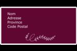 Extérieur rustique Étiquettes d'expédition - gabarit prédéfini. <br/>Utilisez notre logiciel Avery Design & Print Online pour personnaliser facilement la conception.