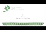 Trèfle de la Saint-Patrick Étiquettes de classement écologiques - gabarit prédéfini. <br/>Utilisez notre logiciel Avery Design & Print Online pour personnaliser facilement la conception.