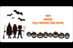 Enfants à l'Halloween Étiquettes de classement écologiques - gabarit prédéfini. <br/>Utilisez notre logiciel Avery Design & Print Online pour personnaliser facilement la conception.