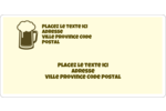 Image de bière Étiquettes de classement écologiques - gabarit prédéfini. <br/>Utilisez notre logiciel Avery Design & Print Online pour personnaliser facilement la conception.