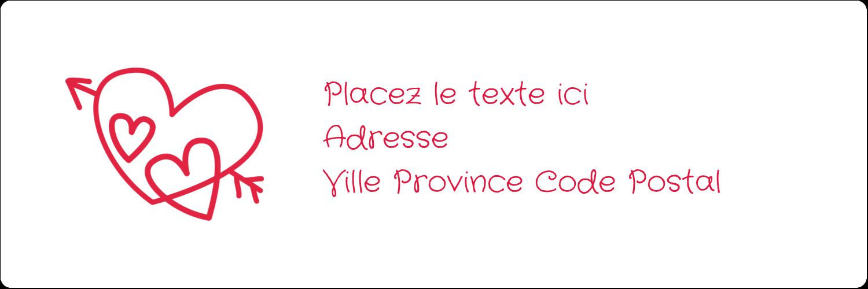 """8½"""" x 11"""" Intercalaires / Onglets - Dessin de la Saint-Valentin"""