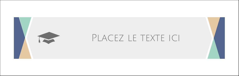 """4¼"""" x 5½"""" Cartes de notes - Diplômes et couleurs"""