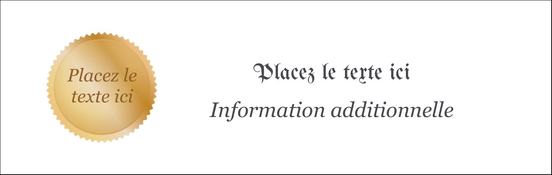 """4¼"""" x 5½"""" Cartes de notes - Diplôme d'études"""