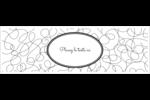 Gribouillis Affichette - gabarit prédéfini. <br/>Utilisez notre logiciel Avery Design & Print Online pour personnaliser facilement la conception.