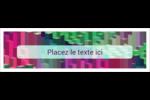 Architecture Minecraft Affichette - gabarit prédéfini. <br/>Utilisez notre logiciel Avery Design & Print Online pour personnaliser facilement la conception.