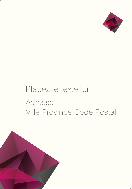 """⅔"""" x 1¾"""" Étiquettes D'Adresse - Pierres de rubis"""