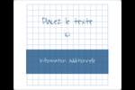 Papier graphique bleu Étiquettes D'Identification - gabarit prédéfini. <br/>Utilisez notre logiciel Avery Design & Print Online pour personnaliser facilement la conception.