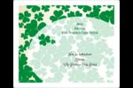 Arrière-plan de trèfles de la Saint-Patrick Étiquettes D'Adresse - gabarit prédéfini. <br/>Utilisez notre logiciel Avery Design & Print Online pour personnaliser facilement la conception.