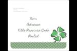 Trèfle de la Saint-Patrick Étiquettes D'Adresse - gabarit prédéfini. <br/>Utilisez notre logiciel Avery Design & Print Online pour personnaliser facilement la conception.