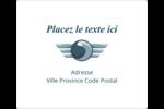 Ailes de limousine Étiquettes d'expédition - gabarit prédéfini. <br/>Utilisez notre logiciel Avery Design & Print Online pour personnaliser facilement la conception.