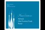 Vase design d'intérieur Étiquettes D'Adresse - gabarit prédéfini. <br/>Utilisez notre logiciel Avery Design & Print Online pour personnaliser facilement la conception.