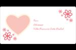 Guingan de la Saint-Valentin Étiquettes de classement écologiques - gabarit prédéfini. <br/>Utilisez notre logiciel Avery Design & Print Online pour personnaliser facilement la conception.