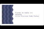 Chevron bleu Étiquettes de classement écologiques - gabarit prédéfini. <br/>Utilisez notre logiciel Avery Design & Print Online pour personnaliser facilement la conception.