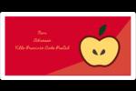 Pomme rouge Étiquettes d'expédition - gabarit prédéfini. <br/>Utilisez notre logiciel Avery Design & Print Online pour personnaliser facilement la conception.