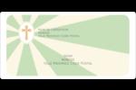 Croix pastel Étiquettes de classement écologiques - gabarit prédéfini. <br/>Utilisez notre logiciel Avery Design & Print Online pour personnaliser facilement la conception.