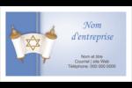 Rouleau de la Torah Cartes d'affaires - gabarit prédéfini. <br/>Utilisez notre logiciel Avery Design & Print Online pour personnaliser facilement la conception.