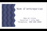 Chevron bleu Carte d'affaire - gabarit prédéfini. <br/>Utilisez notre logiciel Avery Design & Print Online pour personnaliser facilement la conception.