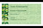Hexagones verts Cartes d'affaires - gabarit prédéfini. <br/>Utilisez notre logiciel Avery Design & Print Online pour personnaliser facilement la conception.