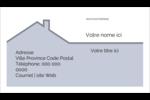 Construction de maison Carte d'affaire - gabarit prédéfini. <br/>Utilisez notre logiciel Avery Design & Print Online pour personnaliser facilement la conception.