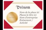 Diplôme d'études Badges - gabarit prédéfini. <br/>Utilisez notre logiciel Avery Design & Print Online pour personnaliser facilement la conception.