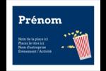 Popcorn et film Badges - gabarit prédéfini. <br/>Utilisez notre logiciel Avery Design & Print Online pour personnaliser facilement la conception.