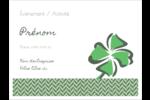 Trèfle de la Saint-Patrick Badges - gabarit prédéfini. <br/>Utilisez notre logiciel Avery Design & Print Online pour personnaliser facilement la conception.