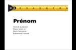 Ruban à mesurer Badges - gabarit prédéfini. <br/>Utilisez notre logiciel Avery Design & Print Online pour personnaliser facilement la conception.