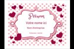 Bulles de Saint-Valentin Badges - gabarit prédéfini. <br/>Utilisez notre logiciel Avery Design & Print Online pour personnaliser facilement la conception.