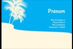 Palm Beach Badges - gabarit prédéfini. <br/>Utilisez notre logiciel Avery Design & Print Online pour personnaliser facilement la conception.