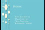 Rideau de perles bleues Étiquettes à codage couleur - gabarit prédéfini. <br/>Utilisez notre logiciel Avery Design & Print Online pour personnaliser facilement la conception.