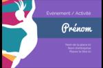 Danse en couleur Badges - gabarit prédéfini. <br/>Utilisez notre logiciel Avery Design & Print Online pour personnaliser facilement la conception.