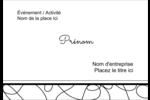 Gribouillis Badges - gabarit prédéfini. <br/>Utilisez notre logiciel Avery Design & Print Online pour personnaliser facilement la conception.