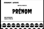 Fantômes Pac-Man d'Halloween Étiquettes à codage couleur - gabarit prédéfini. <br/>Utilisez notre logiciel Avery Design & Print Online pour personnaliser facilement la conception.