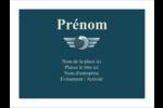 Ailes de limousine Étiquettes badges autocollants - gabarit prédéfini. <br/>Utilisez notre logiciel Avery Design & Print Online pour personnaliser facilement la conception.