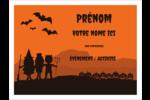 Enfants à l'Halloween Badges - gabarit prédéfini. <br/>Utilisez notre logiciel Avery Design & Print Online pour personnaliser facilement la conception.