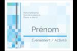 Carrés pixélisés Badges - gabarit prédéfini. <br/>Utilisez notre logiciel Avery Design & Print Online pour personnaliser facilement la conception.
