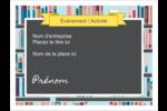 Rayons de bibliothèque Étiquettes badges autocollants - gabarit prédéfini. <br/>Utilisez notre logiciel Avery Design & Print Online pour personnaliser facilement la conception.