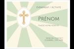Croix pastel Badges - gabarit prédéfini. <br/>Utilisez notre logiciel Avery Design & Print Online pour personnaliser facilement la conception.
